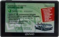 GPS навигатор LEXAND SA5 HD, 5 , авто, 4Гб, Navitel 8.7 с расширенным пакетом картографии, серый