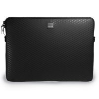 Acme Made Smart Laptop Sleeve,MB Pro 15 Matte Black Chevron