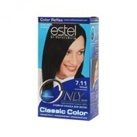 Estel Professional Only Color 7.11 (Цвет 7.11 Черный variant_hex_name 050304)