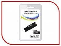 USB Flash Drive 4Gb - Exployd 560 Black EX-4GB-560-Black