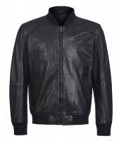 Al Franco Кожаная куртка-бомбер