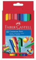 FABER-CASTELL Фломастер Faber-Castell 155510 10цв. картон (10шт.)