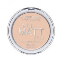 Catrice All Matt Plus Shine Control Powder (Цвет Transparent №010 variant_hex_name EBC7B1)