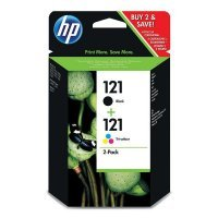 HP 121 Black/Tri-color CN637HE
